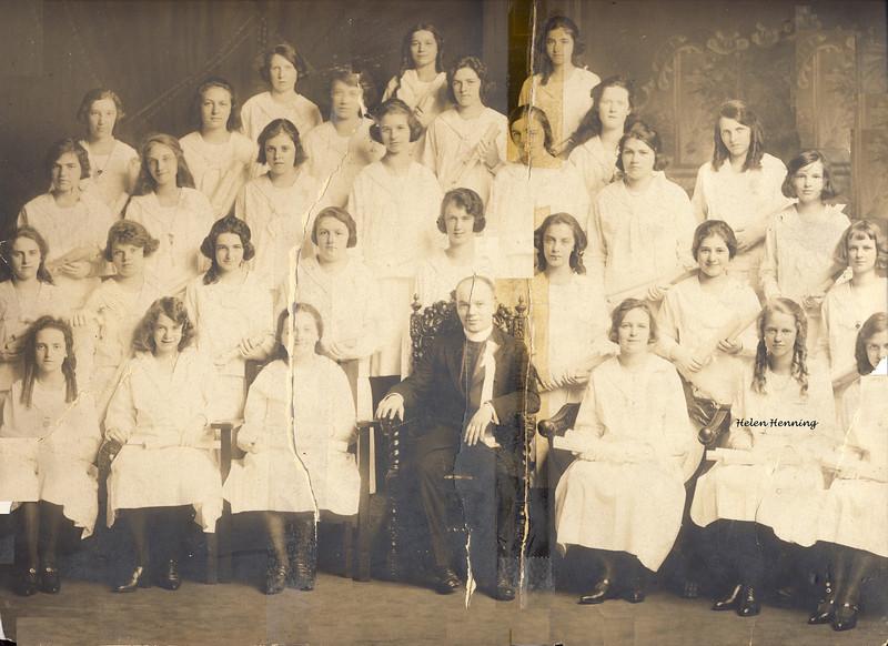 zzz 1920 Holy Name Grad class a