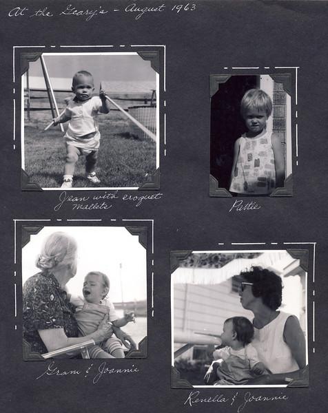 Ciliks and Gearys   Aug '63