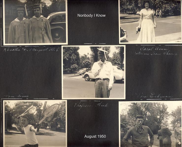 Renella Graduation - August 1950