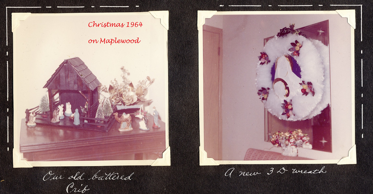 Christmas 1964 on Maplewood  c