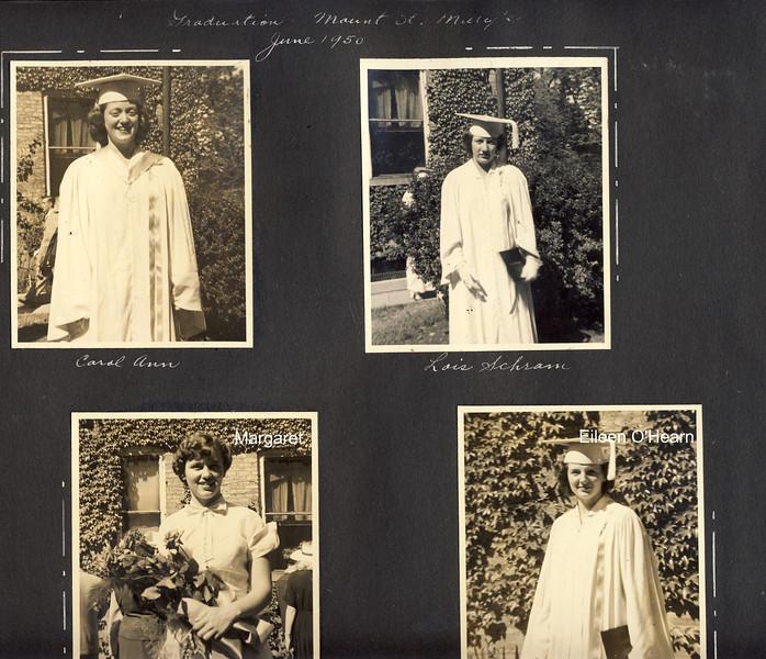 Carol Ann's Grad MSM   June 1950