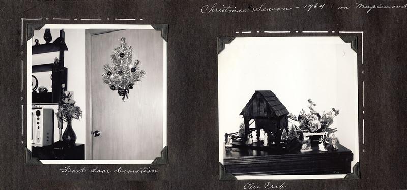 Christmas 1964 on Maplewood  b