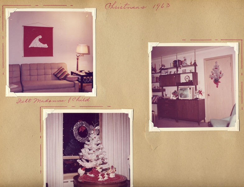 Christmas '63 at Maplewood Ave