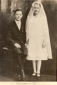 Fred and Helen Henning - First Communion Day