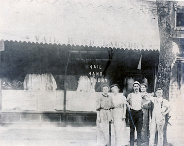 Vail Hand Laundry - the laundry that the Henning family owned.
