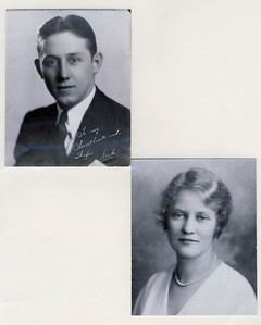Wilfred Joseph Eckman & Helen Mildred Henning Wedding Pictures