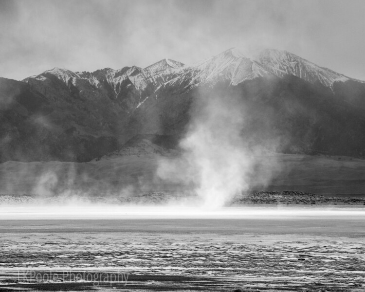 Dust Storm over San Luis Lake