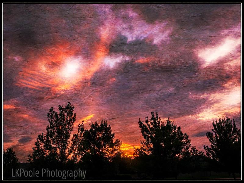 Textured Sunset