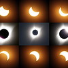 Composite image of Eclipse sequence