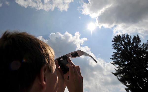 Solar Eclipse   St. Francis University