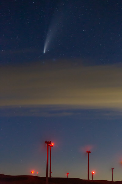 Comet on the Palouse