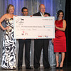 Charities received $120,000 to be distributed to L-R Elizabeth Jenkins of Race for Education, John Velasquez of the Disabled Jockeys Fund, Ed Bowen of the Grayson Foundation and Stacie Clark  of Gulfstream Park Aftercare Program,  2013 Eclipse Awards at Gulfstream Park, FL<br /> <br /> Photos by Z