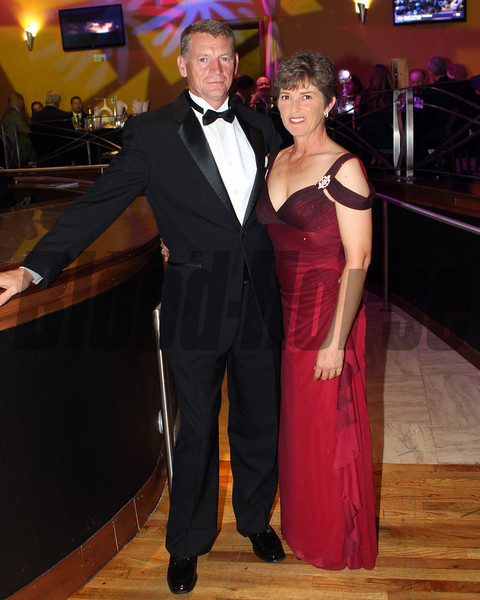 Mr/Mrs Ciaran Dunne,  2013 Eclipse Awards at Gulfstream Park, FL<br /> <br /> Photos by Z