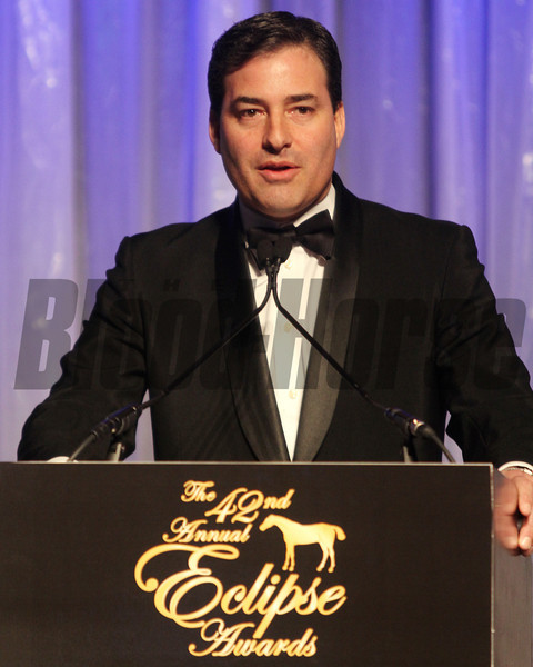 Jim Gagliano, 2013 Eclipse Awards at Gulfstream Park, FL<br /> <br /> Photos by Z