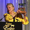 Mrs Calvin Houghland accepts Steeplechaser of the Year for Pierrot Lunaire, , 2013 Eclipse Awards at Gulfstream Park, FL<br /> Photos by Z