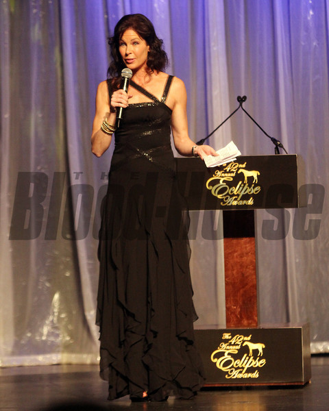 Janine Edwards emcees, 2013 Eclipse Awards at Gulfstream Park, FL<br /> Photos by Z
