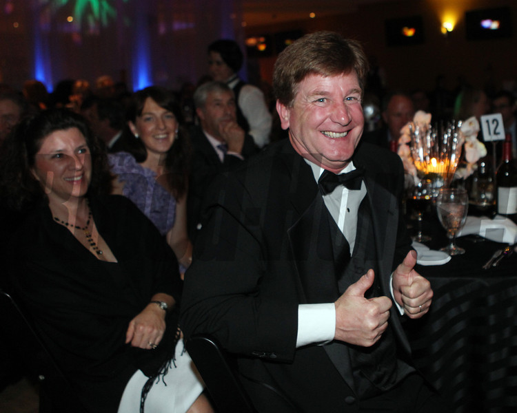 Bobby Spalding reacts to Darley winning for breeder of the year,  2013 Eclipse Awards at Gulfstream Park, FL<br /> Photos by Z