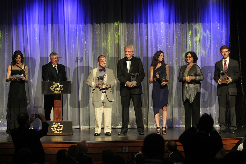 Media Award Winners, 2013 Eclipse Awards at Gulfstream Park, FL<br /> Photos by Z