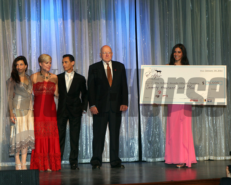 Eclipse Award Charities money is distributed, 2013 Eclipse winners