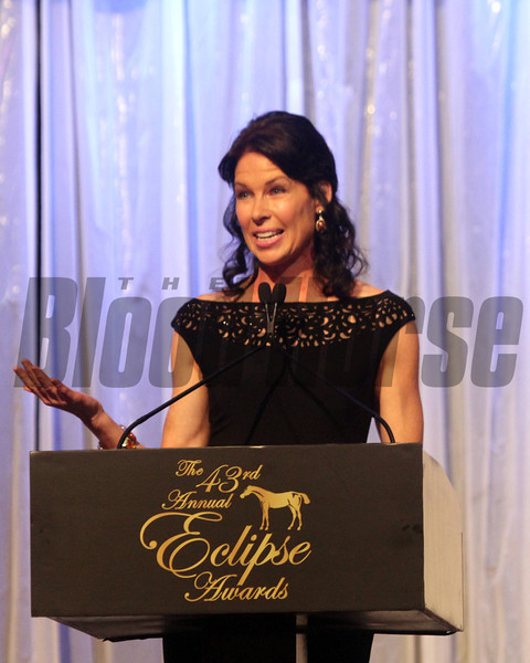 Janine Edwards, emcee, 2013 Eclipse winners