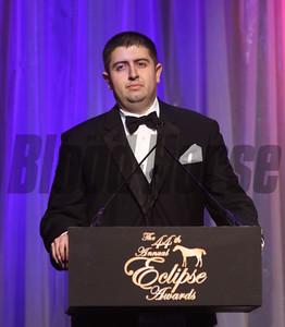Jose Aria, Handicapper of the Year,  2014 Eclipse Awards photosbyz.com