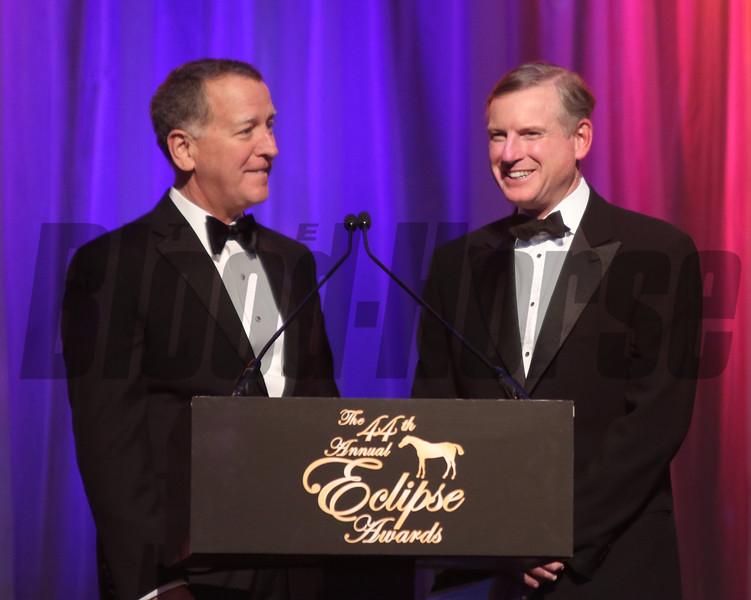 Bill Thomason, Bill Farish, 2014 Eclipse Awards