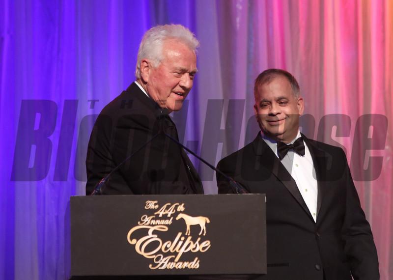 Frank Stronach, Tim Ritvo, 2014 Eclipse Awards