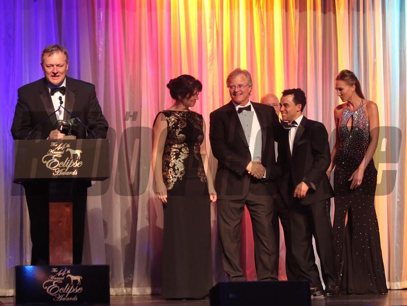Garrett O'Rourke  Champion  Older Female, 2014 Eclipse Awards