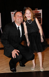 Chad Brown and daughter,  2015 Eclipse Awards