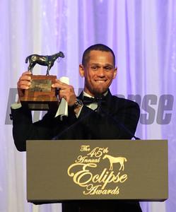 Javier Castellano, 2015 Jockey of the Year,  2015 Eclipse Awards