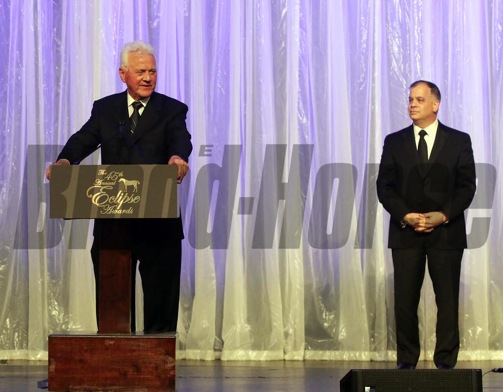 Frank Stronach, Tim Ritvo,  2015 Eclipse Awards
