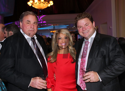 The Ortowski Family part owners of Exaggerator at the 46th annual Eclipse Awards, at Gulfstream Park, 2017