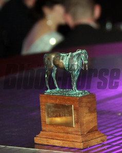 Eclipse statue at the 46th annual Eclipse Awards, at Gulfstream Park, 2017