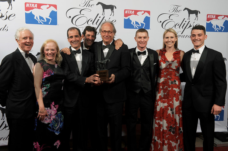 Scorpiancer wins Steeplechase Eclipse Award at 2018 Eclipse Awards, Gulfstream Park, FL 1.25.2018