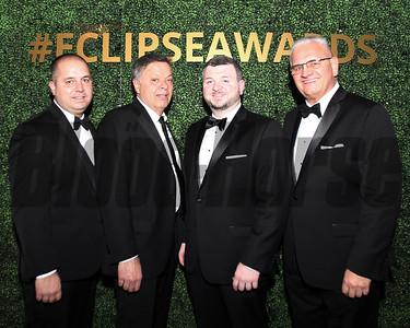 Jerry Artz far right, friends of agent for Jose Ortiz, Eclipse Awards, 2018 , Gulfstream Park