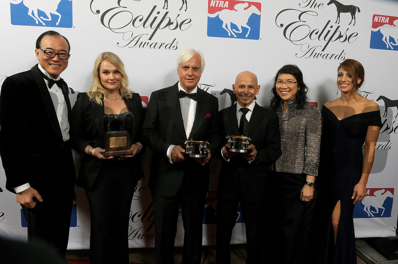 Abel Tasman wins 3 year Old Filly at 2018 Eclipse Awards, Gulfstream Park, FL 1.25.2018