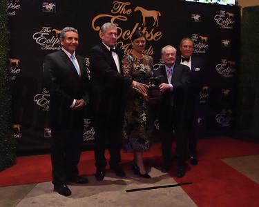 Don Alberto Stable accepts the award for older dirt female Unique Bella credit Leslie Martin3
