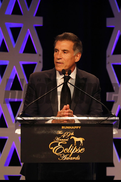 Vinnie Viola, Older Dirt Male, 2019 Eclipse Awards, Gulfstream Park, January 23, 2020
