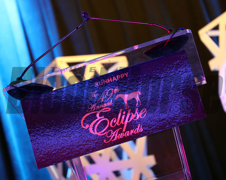 2019 Eclipse Awards at Gulfstream Park, Fort Lauderdale Fl held January 23, 2020