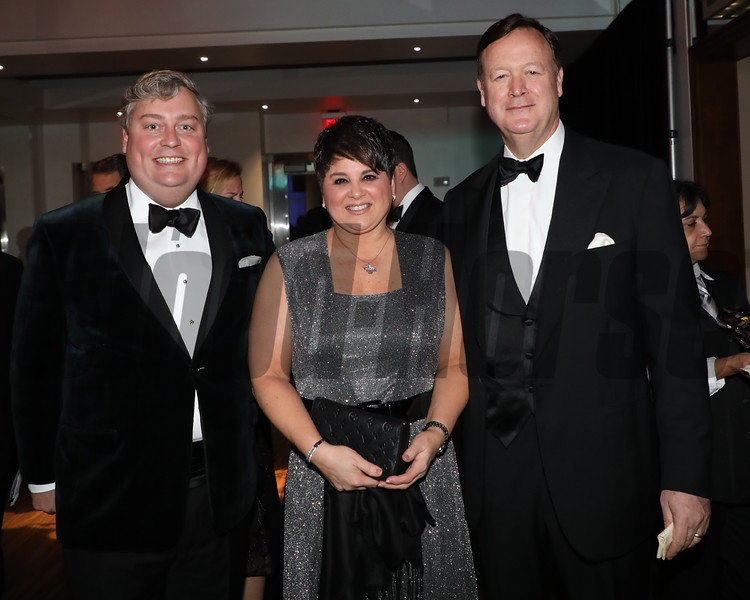 Drew Fleming, Dora Delgado, John Keith, 2019 Eclipse Awards at Gulfstream Park, Fort Lauderdale Fl held January 23, 2020