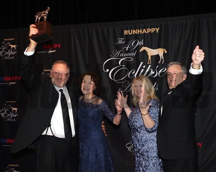 Seth Klarman, 2019 Eclipse Awards at Gulfstream Park, Fort Lauderdale Fl held January 23, 2020