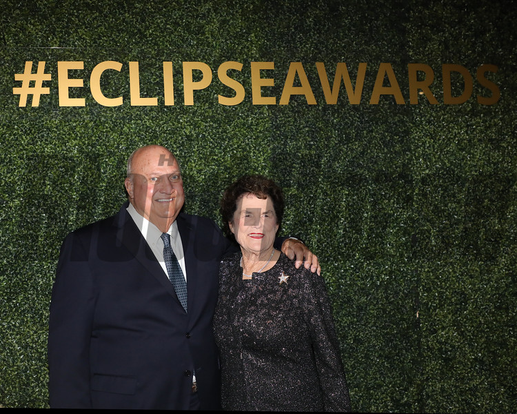 Bill and Corinne Heiligbrodt, 2019 Eclipse Awards at Gulfstream Park, Fort Lauderdale  Fl held January 23, 2020