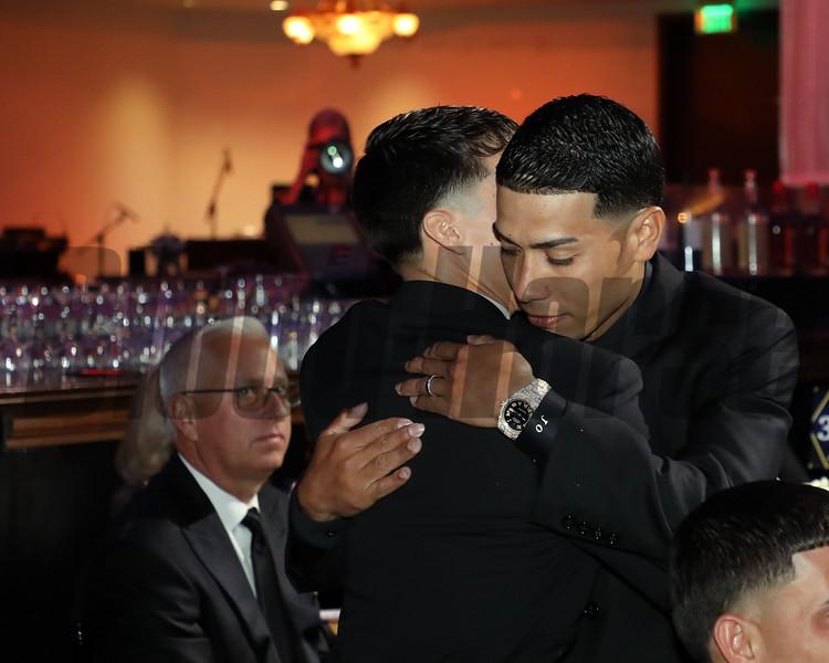Jose Ortiz. 2019 Eclipse Awards, Gulfstream Park, January 23, 2020