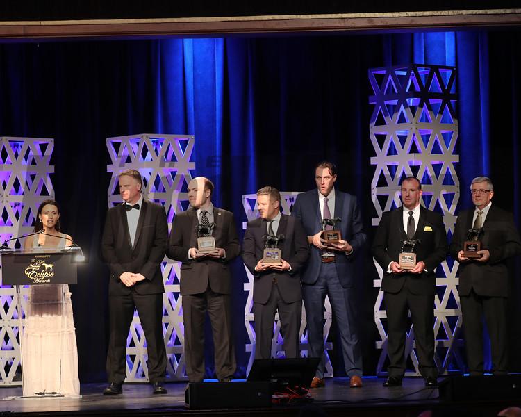 Media Awards, 2019 Eclipse Awards at Gulfstream Park, Fort Lauderdale Fl held January 23, 2020