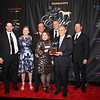 L-R Brad Cox, Liz Crow, Stuart and Teresa Grant, Michael Dubb, and friends,  2YO Filly, 2019 Eclipse Awards at Gulfstream Park, Fort Lauderdale Fl held January 23, 2020