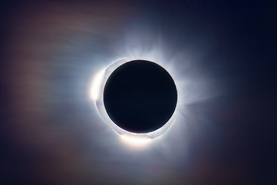 Total Solar Eclipse C2 & C3 Diamond Rings v2 (2012 Australia)