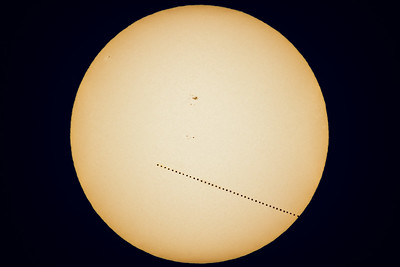 Transit of Mercury (May 9, 2016) Composite