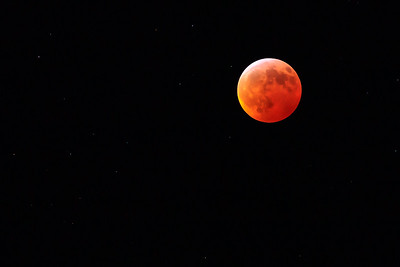 The 20-21 Jaunuary 2019 Total Lunar Eclipse From Ann Arbor Michigan USA
