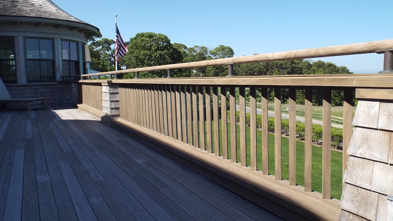 Porch Rail and Balusters (After)