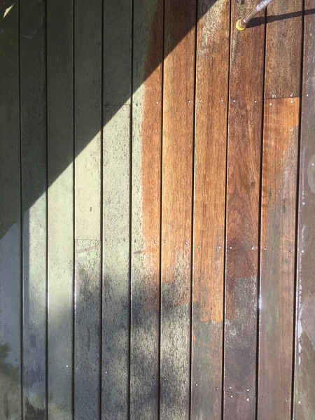 Deck (Before and After Wash)